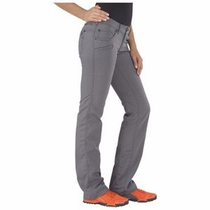 5.11 tactical cirrus pant in storm gray.